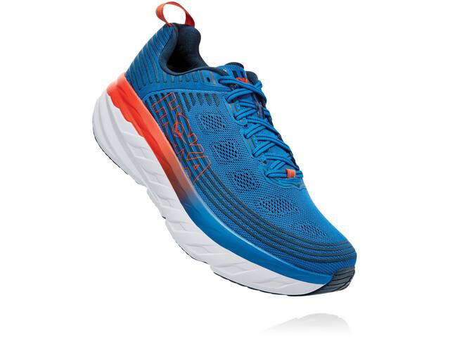 Hoka One One Bondi 6 Shoes Men, imperial blue/majolica blue